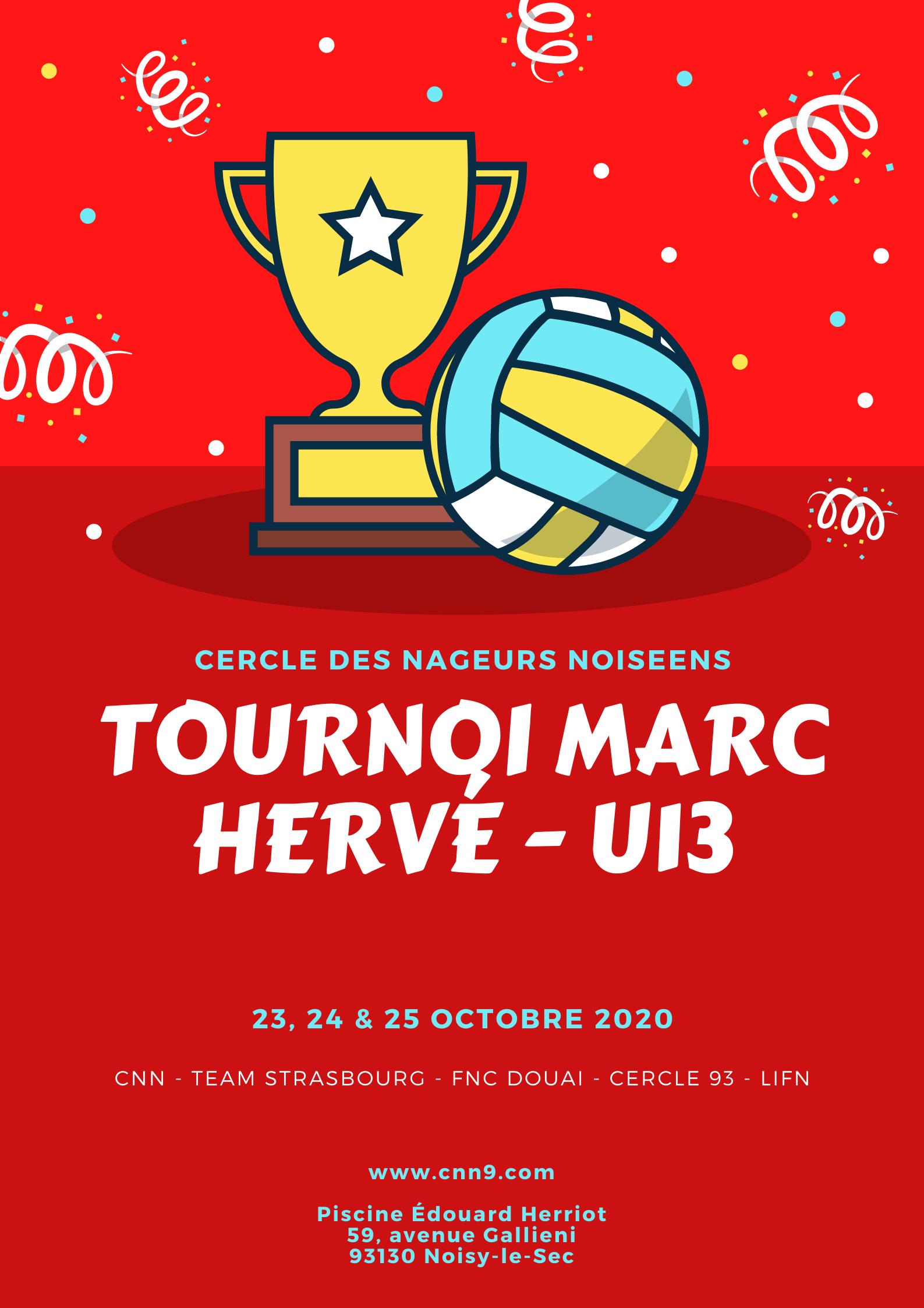 TOURNOI MARC HERVÉ - U13